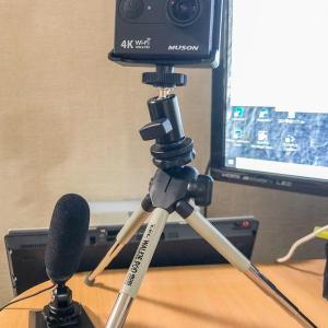 【ガジェット】GoProそっくり MUSON(ムソン)MC2 アクションカメラをWEB CAMとして使ってみた