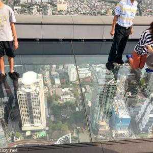 ソンクラン2019@バンコク〜JAL & ANAで航空旅行 / Vol.8 バンコクで一番高い最新高層ビル「マハナコーンタワー (KING POWER MAHA NAKHON)」に登ってみた