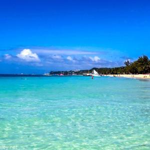フィリピン随一の楽園ボラカイ島に行ってきた / Vol.8 まさに地上の楽園!目の前は美しい白浜 ボラカイビーチを散策