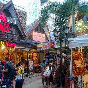 フィリピン随一の楽園ボラカイ島に行ってきた / Vol.10 ビーチ沿いのショッピングモール・スーパーマーケットを散策