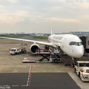 2度目の緊急事態宣言直前に4泊5日で沖縄に行ってきた / Vol.2 JAL919 羽田 – 那覇 搭乗記〜初めてのA350!やっぱり新造機は良い〜
