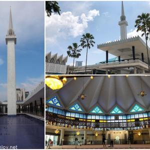 """マレーシア航空でジャカルタ&クアラルンプールを周遊してみた / Vol.7 国立モスク""""マスジット・ネガラ""""は巨大だった"""