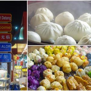 マレーシア航空でジャカルタ&クアラルンプールを周遊してみた / Vol.8  リーズナブルにご飯が食べられる屋台通り Jln Alorジャラン・アロー通りに行ってみた