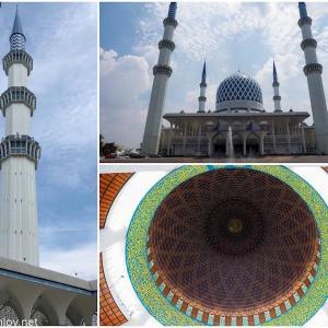 """マレーシア航空でジャカルタ&クアラルンプールを周遊してみた / Vol.9 通称""""ブルーモスク"""" (スルタン・サラディン・アブドゥル・アジズ・モスク )(Sultan Salahuddin Abdul Aziz Mosque)は想像以上に美しかった"""