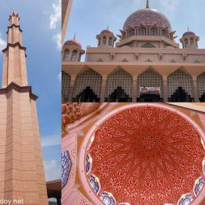 """マレーシア航空でジャカルタ&クアラルンプールを周遊してみた / Vol.11 修行で時間があるときにちょこっと立ち寄れる?プトラモスク(Masjid Putra)(通称""""ピンクモスク"""" )アクセス抜群でフォトジェニックだった"""