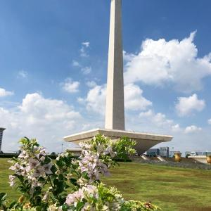 """マレーシア航空でジャカルタ&クアラルンプールを周遊してみた ジャカルタ編  / Vol.8  町の中心にそびえる""""モナス""""は巨大で広大で、、バテバテになった"""
