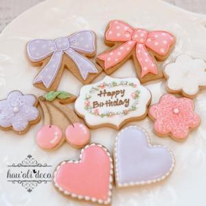 バースデーケーキにママの愛がいっぱいです