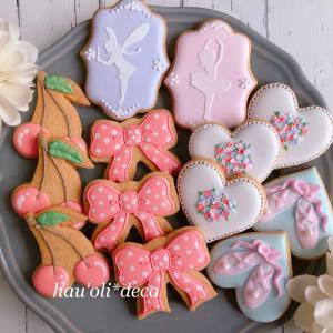 バレエクッキーのデザインを決めるときは・・・
