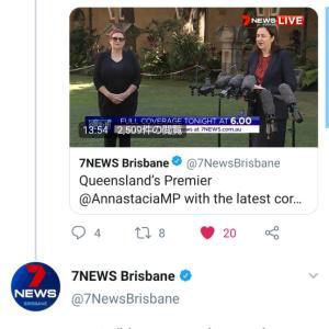 Queenslanders 0 cases yesterday