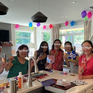 作戦大成功!土曜日はらいらい50歳サプライズパーティを仕掛ける!