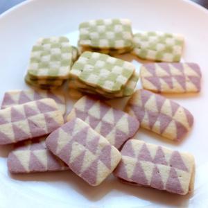 和柄のアイスボックスクッキー