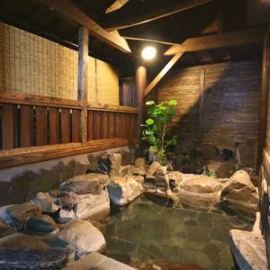当館の露天風呂・ビフォアーアフター