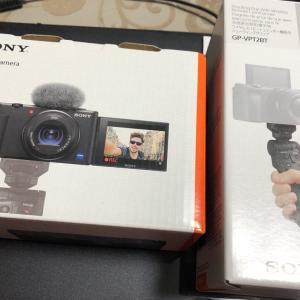 Vlogcam ZV-1 買いました~