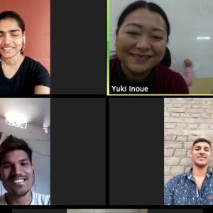 新型コロナウィルス+豪雨の為、ビデオ会議「Zoom」でミーティング