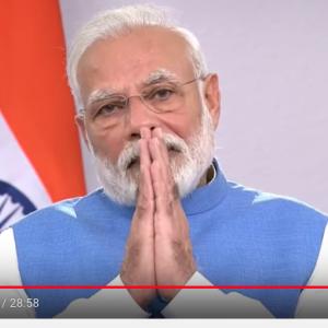 インド、モディ首相が全国民に向けて声明発表。22日は全土外出禁止