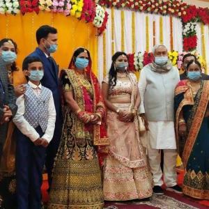 州知事が当ホテルに!インドの結婚式