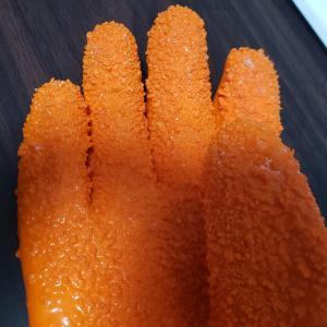 ダイソーで冬の捌き場で大活躍のアイテム「鱗取りグローブ」を発見!