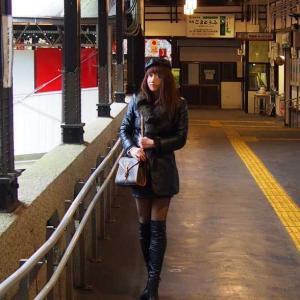 黒革の貴婦人 高野山の旅 episode.3  高野山ケーブルカー
