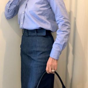 GILTで手に入れた J&M DAVIDSONのスカートのコーデ