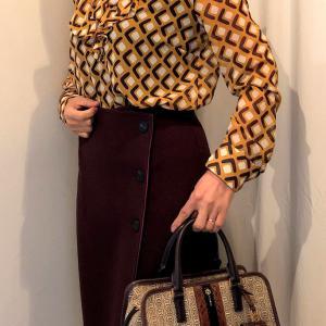 ZARAの柄物ブラウスのコーデ 50代が柄物を着る時 気を付けることとは?