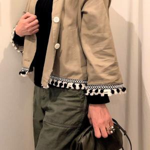ジャケットにカーゴパンツ合わせるコーデ