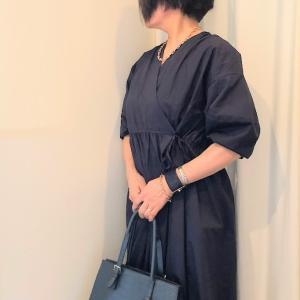 50代 ワンピースを仕事着として着るコーデ