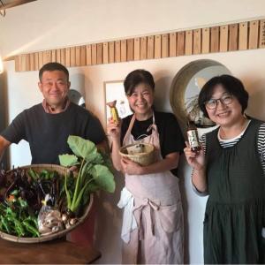 鎌倉で食べつくす鳴子の野菜たち