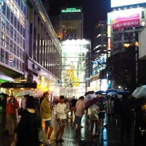 雨夜渋谷!