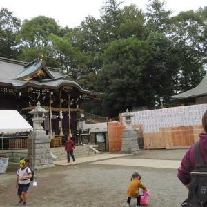 馬絹神社!