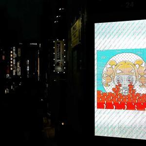 夜の新宿!