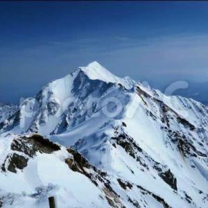 初めての冬山