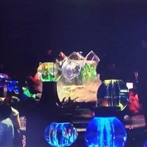 TV番組でアートアクアリウム展が放映されていました。