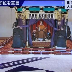 令和天皇陛下 即位の礼正殿の儀(歴史に残る一日)