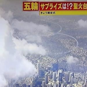 今日は東京2020+1の開幕日で、各社報道番組が、