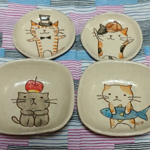 ねこ田商店の小皿