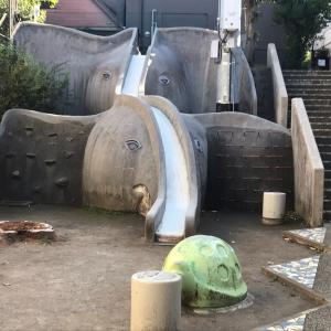 神楽坂のポンプ井戸