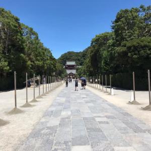 炎天下、鎌倉に行きました