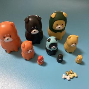 柴マトリョーシカ (柴犬 マトリョーシカ) 全6種