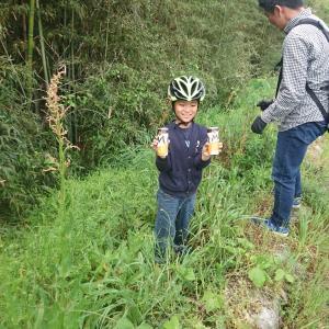第二回自転車道サイクルゴミ拾い(eNShere ゴミ輪ピックオマージュ)