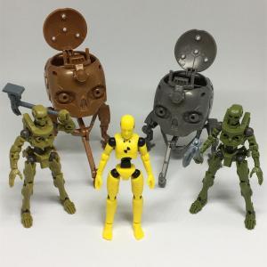 カプセルコレクション ダミー人形/ドクロ素ボディ/ドクロヘッド