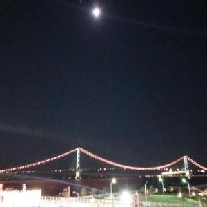 12日はおうし座の満月