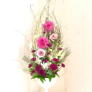 11月のお花は自己流で♡