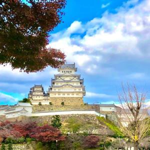 久しぶり!天守閣へ 姫路城