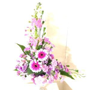 ピンクのお花でスタート