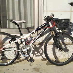 子供用マウンテンバイク クランク交換!(46Tの激重仕様にw)