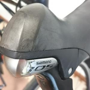 【転倒】お客様のロードバイクを傷付けてしまいましたm(__)m