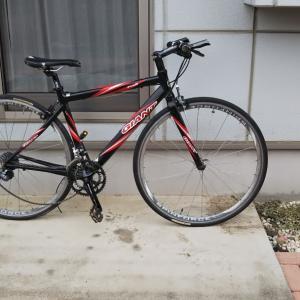 久しぶりにメルカリで中古ロードバイクを購入しました!