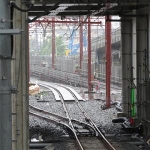 竹ノ塚駅高架化工事(その35)