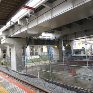 竹ノ塚駅高架化工事(その41)