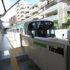 東急目黒線ホーム8両対応工事(その5)